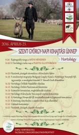 Szent György napi kihajtási ünnep Hortobágyon